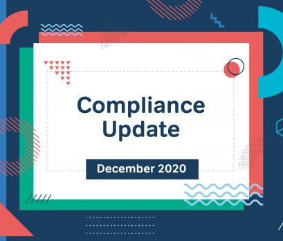 Aurion December 2020 compliance update